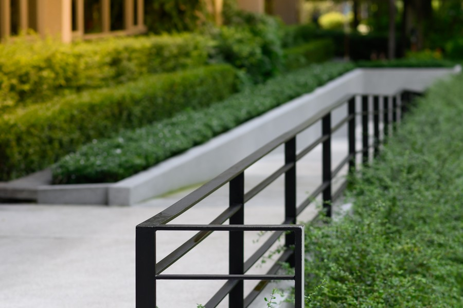 barrière métallique garde-corps