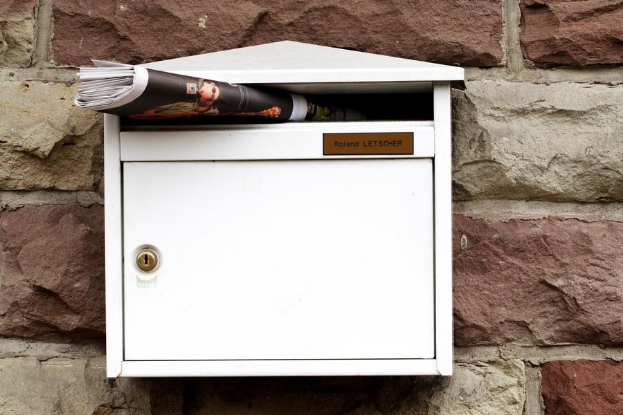 dépannage boîte aux lettres