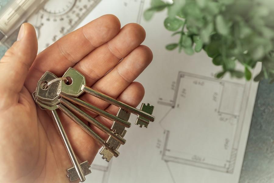 trousseau de clés